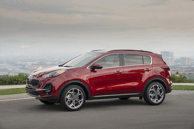 2022 Sportage arrives with more tech and convenience features; a simplified lineup highlighted by popular Nightfall Edition.