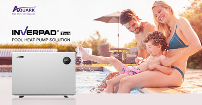 AQUARK Pad Inverter Pool Heat Pump Heating Solution for All-Season Family Pools
