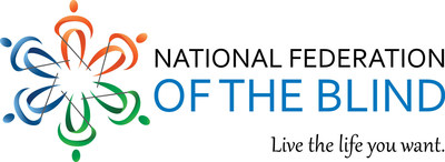 National Federation of the Blind logo (PRNewsFoto/National Federation of the Blind)