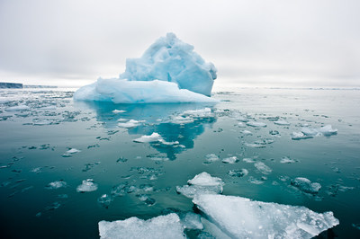 Why do scientists study icebergs? When large pieces of ice break off from glaciers or ice shelves, they form icebergs. As they float along with ocean currents, they reach warmer waters and melt. Climate scientists study icebergs as they melt to study the factors that cause ice shelf break up, and to better predict how ice shelves will respond to a warming climate.