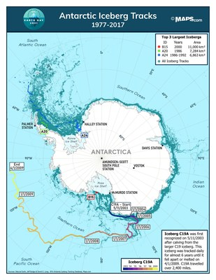 Icebergs and receding glaciers are nature's warning signal for climate change.