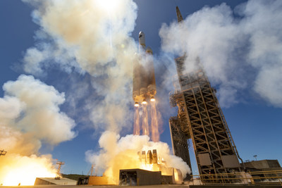 Vandenberg Air Force Base, Calif., (April 26, 2021) A ULA Delta IV Heavy rocket carrying the NROL-82 mission for the National Reconnaissance Office lifts off from Space Launch Complex-6 at 1:47 p.m. PDT on April 26. Photo by United Launch Alliance