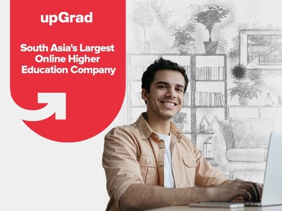 upGrad, South Asia Largest Higher Edtech (PRNewsfoto/upGrad)