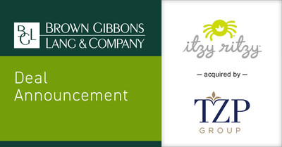 Brown Gibbons Lang & Company (BGL) is pleased to announce the sale of Quintessential Tots, LLC d/b/a Itzy Ritzy to TZP Group. BGL's Consumer Group served as the exclusive financial advisor to Itzy Ritzy in the process. The transaction furthers BGL's market-leading position in the enthusiast-driven baby and juvenile investment banking sector, advising companies across a range of branded consumer products.