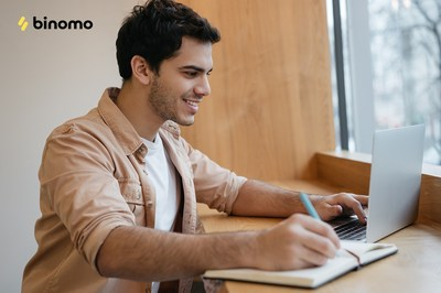 Binomo announces launch of special events and incentives for new users (PRNewsfoto/Binomo)