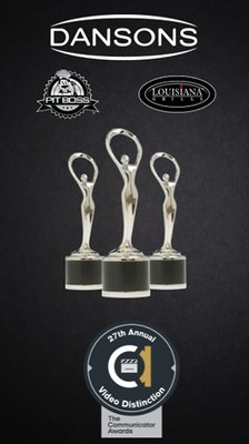 Dansons was recognized with three three Communicator Awards in Distinction, including Distinction for Direction and Cinematography as well as Distinction for Video – Direct Marketing for Film/Video/Television for the Platinum Line Video and Distinction for Individual – Products & Services for Branded Entertainment.