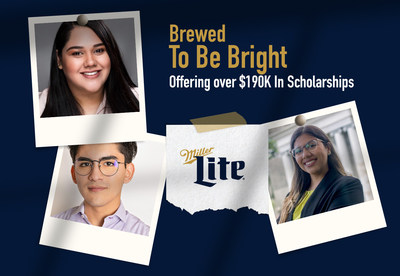 Miller Lite is offering over $190K in scholarships to Latino students 21+ in the U.S. and Puerto Rico.