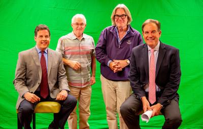 Jim Szoke, Rick Eldridge, Michael Sajbel and Jim Nantz