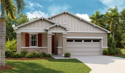The Ruby is one of eight Richmond American floor plans offered at Seasons at Palisades in Clermont, Florida.