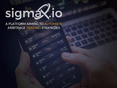 A platform aiming to automated arbitrage trading strategies (PRNewsfoto/Sigmax.io)