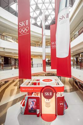 "The SK-II ""Social Retail"" Pop-Up Store in Sanya's Haitang Bay Duty Free Shopping Complex, Hainan, China."