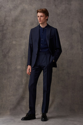 British menswear brand Percival to Dress Gareth Southgate during the 2021 Euros (PRNewsfoto/Percival)