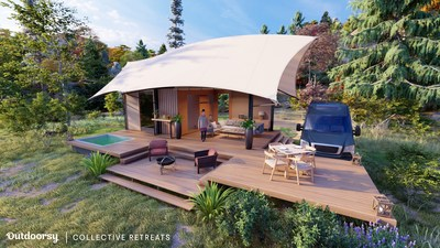 New Collective Retreats and Outdoorsy Accommodations (courtesy of Collective Retreats)
