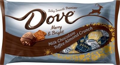 DOVE Milk Chocolate Toffee Almond Crunch PROMISES
