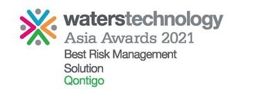 Qontigo Wins Best Risk Management Solution at the WatersTechnology Asia Awards 2021.