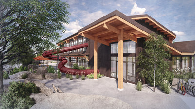 As part of its $40 million renovation, Sunriver Resort has opened the expanded Cove Aquatic Center, comprised of more than one acre of exceptional indoor and outdoor aquatics and other activities.
