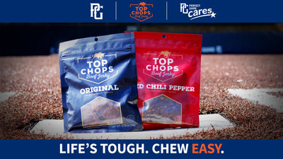 TOP Chops Beef Jerky joins Perfect Game's growing family of national sponsors, by becoming exclusive beef jerky partner of the world's largest youth baseball and softball organization. Through this partnership, TOP Chops becomes the naming-rights sponsor of Perfect Game's newly renovated, state-of-the-art, Marietta, GA youth baseball and softball facility, now known as the TOP Chops East Cobb Complex. TOP Chops also becomes a benefactor of PG Cares' Grow the Game fund.