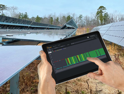 myPV IQ provides realtime visibility and control capabilities for trackers improving energy yields while lowering maintenance costs.